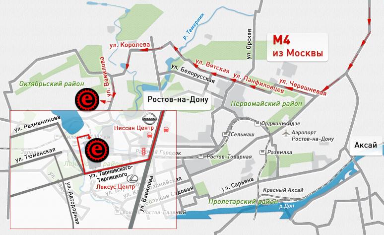 Схема проезда на станцию первомайская в ростове-на-дону